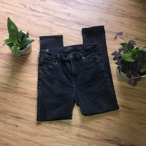 CITIZENS OF HUMANITY skinny ankle cropped jeans